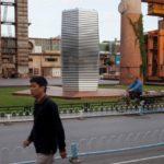 """CHINA: """"TORRE LIBRE DE ESMOG"""", UNA ASPIRADORA DE LA CONTAMINACIÓN"""