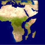 EN ÁFRICA TRAS VARIOS DÍAS DE LLUVIA SE ABRIÓ UNA  PROFUNDA GRIETA EN EL SUELO