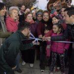 LEO NARDINI INAUGURÓ OTRA OBRA INTEGRAL EN LOS POLVORINES | Nuevos pavimentos con hidráulica en Gascón y Medrano