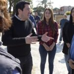 EN MALVINAS ARGENTINAS SE PAVIMENTAN LOS ACCESOS A LAS ESCUELAS | Nuevos pavimentos en barrio Santa Lucía