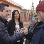 LEO NARDINI VISITÓ EL BARRIO SAN PASCUAL DE GRAND BOURG | Afirmó que la clave es el diálogo con los vecinos