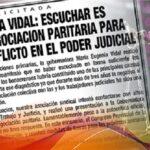 """GOBERNADORA VIDAL: ESCUCHAR ES RETOMAR LA NEGOCIACIÓN PARITARIA"""