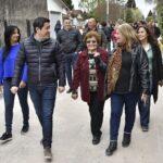 LEO NARDINI INAUGURÓ OTRA OBRA INTEGRAL ACOMPAÑADO POR LOS VECINOS | Se trata de la calle Comodoro Rivadavia